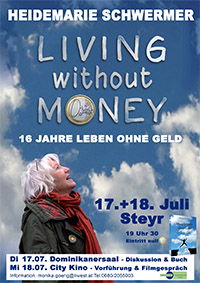 Filmplakat Living without Money